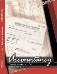Financial Accounting 1 Class 11th Accountancy NCERT Book PDF Download