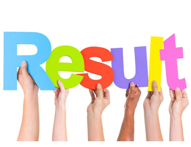 Result Assistant Director Hindi Typing Hindi Stenography
