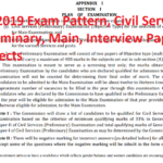 IAS 2019 Exam Pattern, Civil Services Preliminary, Main, Interview Paper, Subjects