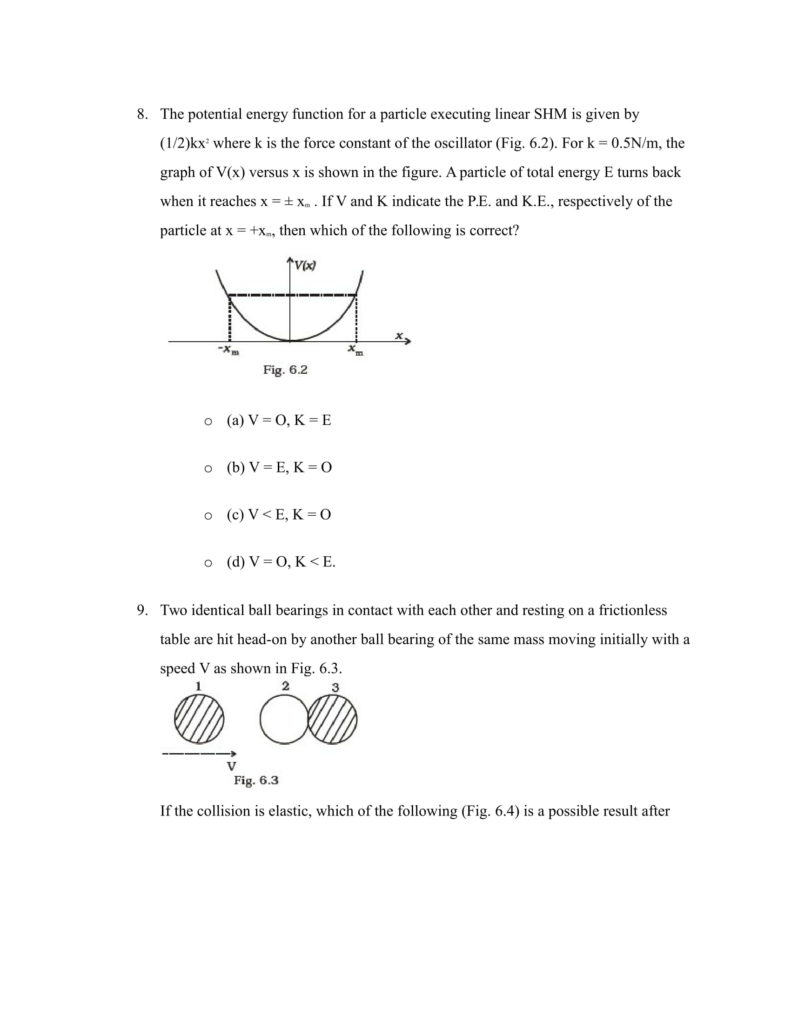 Important Questions For Class 11 Physics Chapter 5 Laws of motion