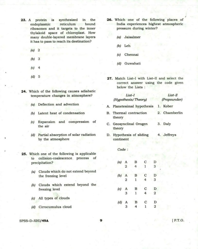 CDS General Knnowledge Question Papers, Download UPSC Combined Defence Services GK