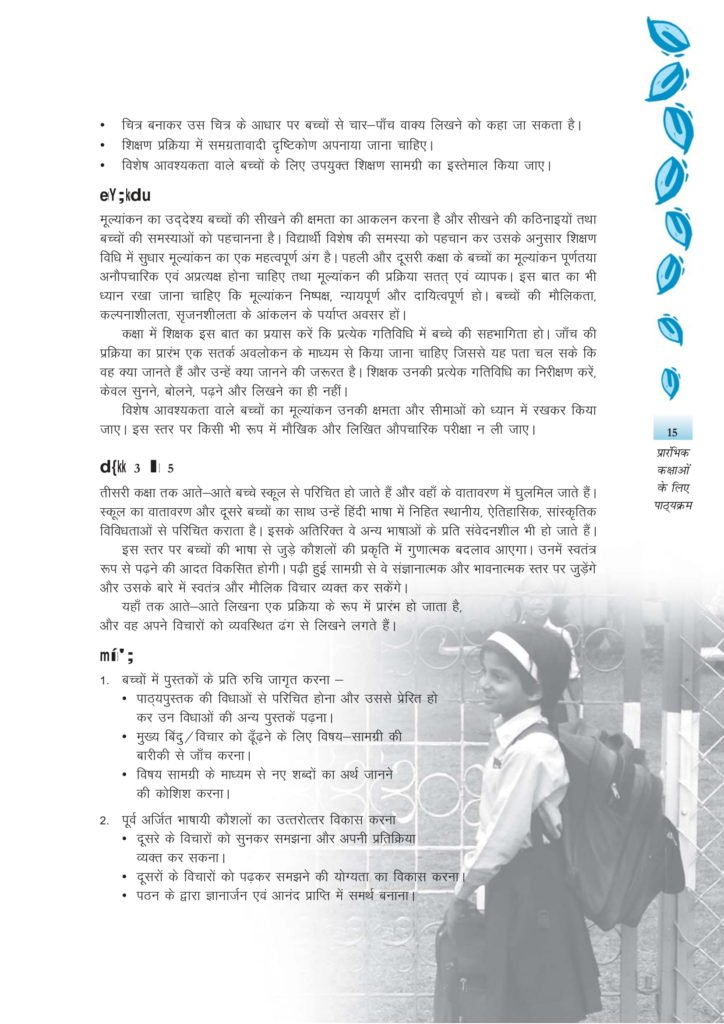CBSE Syllabus For Hindi Classes 1, 2, 3, 4, 5 - New NCERT Pattern at Elementary Level