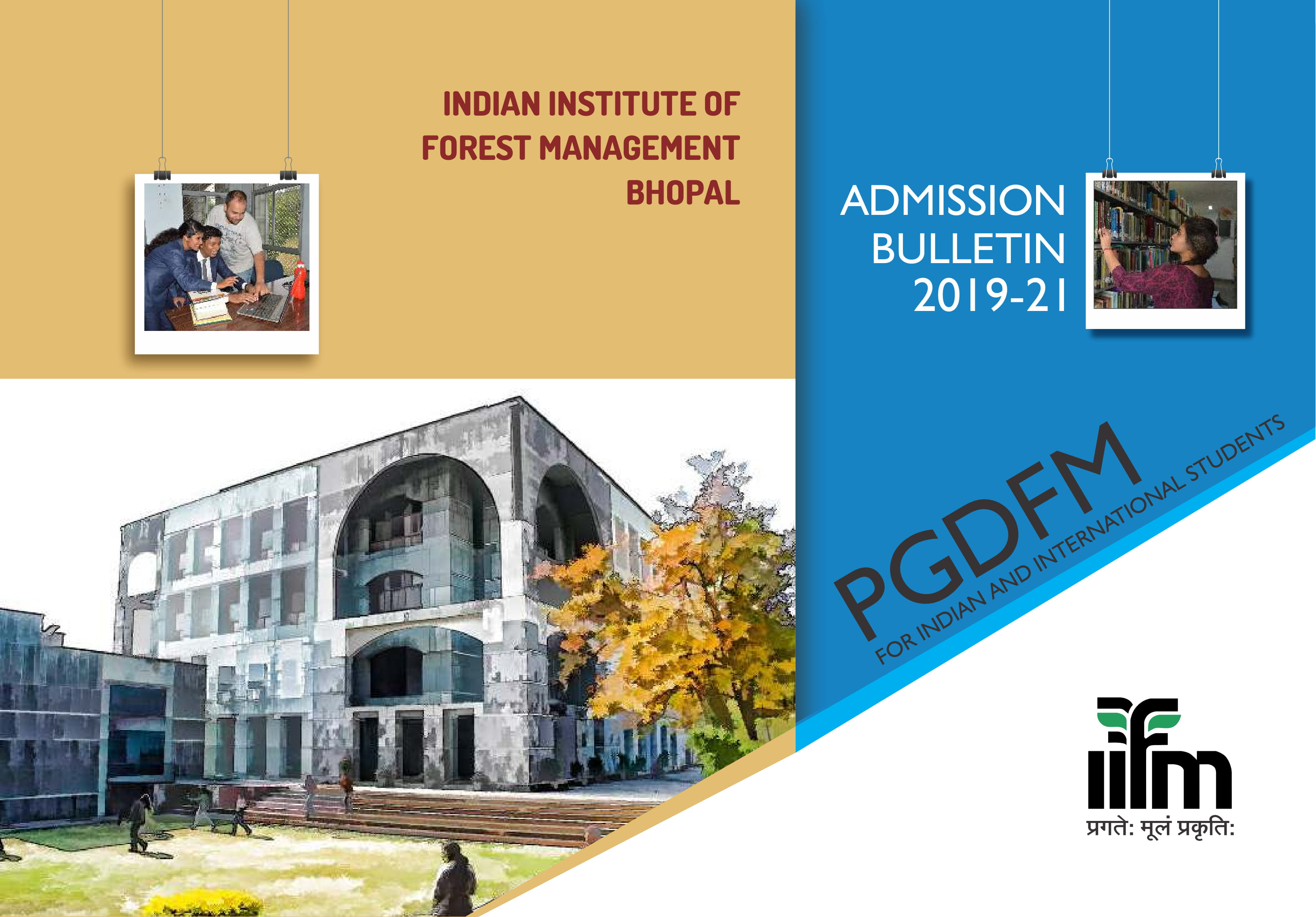 IIFM PGDFM Admission 2019-21 Application Form, Eligibility & Selection Criteria, Fees Structure, Syllabus