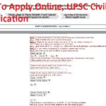 IAS 2019 How To Apply Online, UPSC Civil Services Exam Fill Online Application