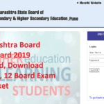 Maharashtra Board Admit Card 2019 Released, Download Class 10, 12 Board Exam Hall Ticket