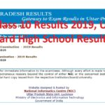 UP Board Class 10 Results 2019, Uttar Pradesh Board High School Results - Announced