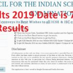 CISCE Results 2019 Date is 7th May 2019 - ICSE, ISC Results