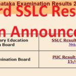 Karnataka Board SSLC Results 2019, karresults.nic.in Announced